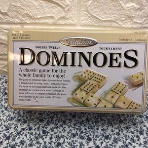 Original Double Twelve Tournament Dominoes